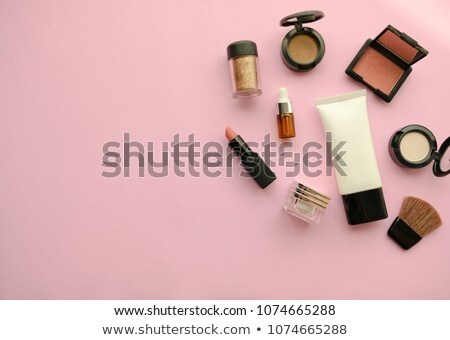 Kobiecy piękna kolorowy makijaż portret twórczej Zdjęcia stock © lithian