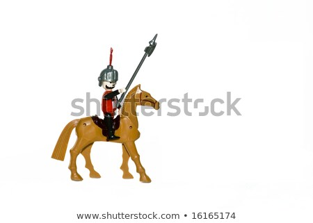 Toy knights on horses Stock photo © photography33