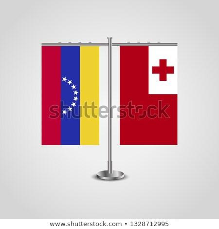 Miniature Flag of Tonga (Isolated) Stock photo © bosphorus