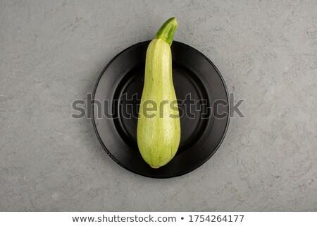 A single marrow on the plate Stock photo © Julietphotography