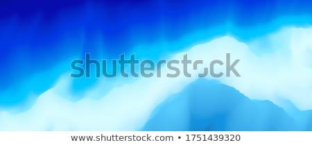 kék · vászon · szövet · textúra · közelkép · absztrakt - stock fotó © MiroNovak