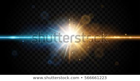 высокий освещение пост Blue Sky свет лампы Сток-фото © chrisbradshaw