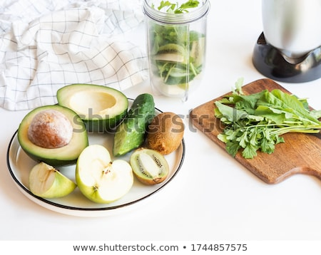composition of raw vegetables stock photo © m-studio