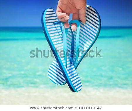 tan flip flop Stock photo © ArenaCreative