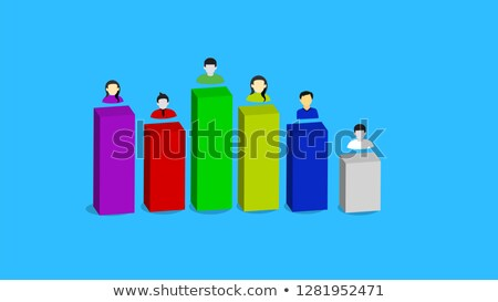 Stock photo: Business charts. Vector file also available.