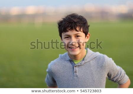 crianças · sofrimento · adolescente · isolado · branco - foto stock © peredniankina