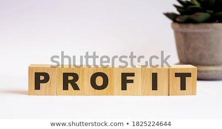 Winst woord kleur brieven ontwerp achtergrond Stockfoto © fuzzbones0
