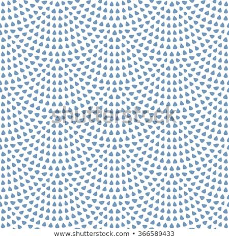 Pequeno gotas branco sem costura vetor padrão Foto stock © yopixart