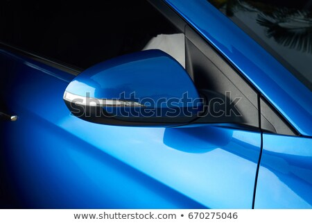 close up of a blue car stock photo © andreypopov