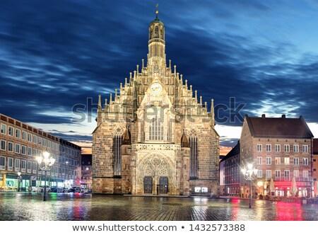 Германия Церкви Lady пример кирпичных Готский Сток-фото © borisb17