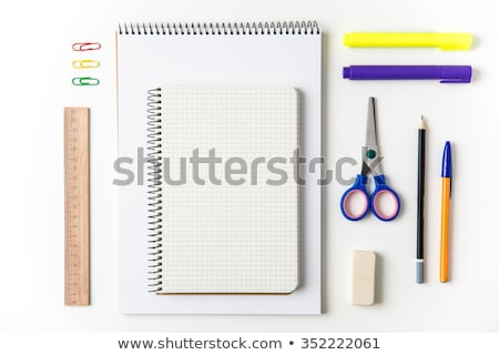 Ballpoint Pen, Supply for School and Work to Write Stock photo © robuart
