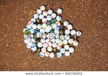 Colorato sfera di cristallo illustrazione bianco abstract arte Foto d'archivio © get4net