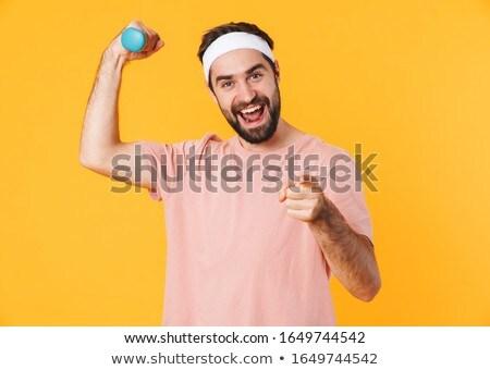 Imagem muscular moço Foto stock © deandrobot