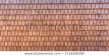 古い · 木製 · 屋根 · 垂直 · 画像 · テクスチャ - ストックフォト © pancaketom