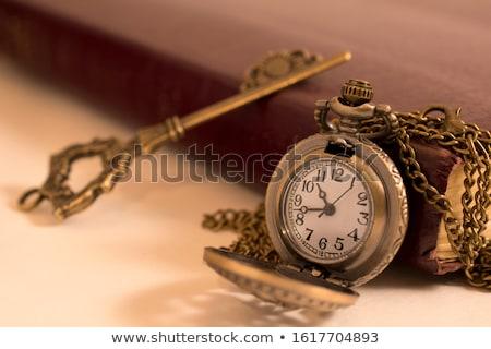 Old clock Stock photo © leeser