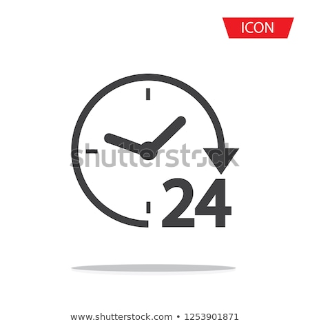 24 hours a day 7 days a week concept Stock photo © experimental