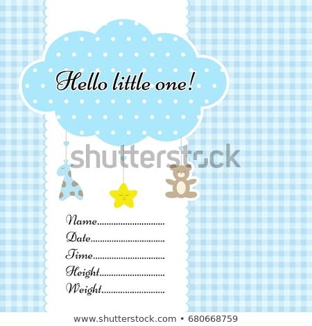 baby birth sampler Stock photo © neirfy