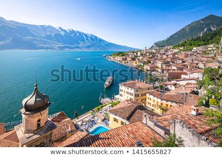 View on Lake Garda in northern Italy. Stock photo © rglinsky77