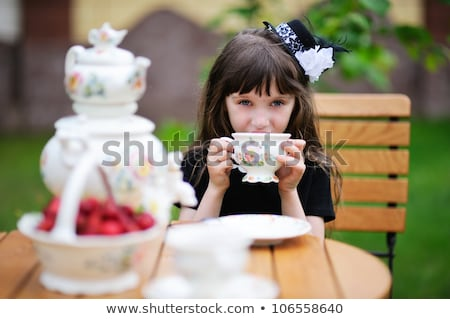 Children having a tea party Stock photo © photography33