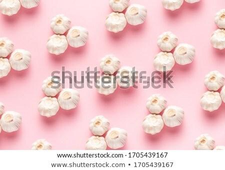 Garlic Trio on White Stock photo © lisafx