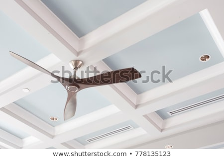 teto · ventilador · chave · cadeia · vento · eletricidade - foto stock © ozaiachin