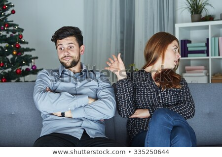 a couple looking annoyed Stock photo © photography33