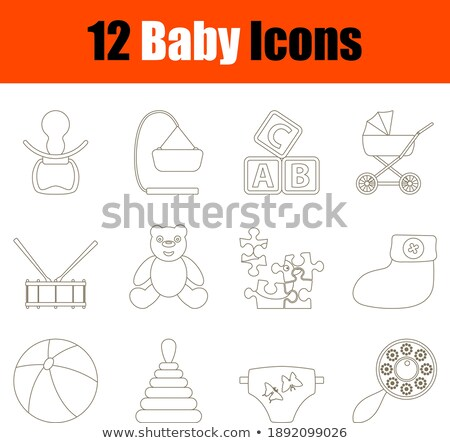 baby bottle without soother Stock photo © ozaiachin
