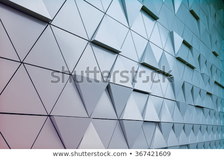 aluminium silver metal architecture detail Stock photo © travelphotography