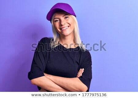 purple cap stock photo © shutswis