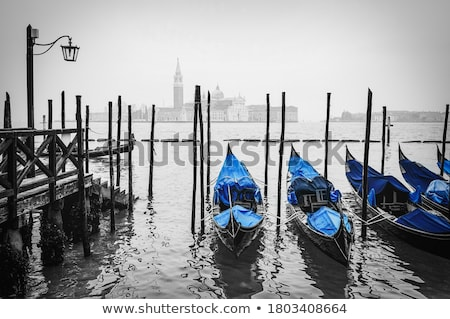 Cityscape of Venice. wharf Stock photo © Pilgrimego