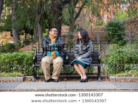 Full length front human relations Stock photo © arlatis