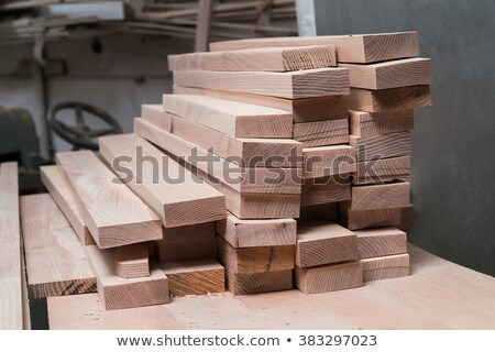 Abstract Stack of Construction Wood Stock photo © feverpitch