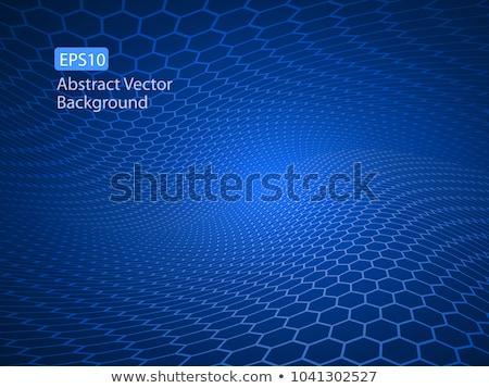 синий цветами аннотация свет фон темно Сток-фото © latent