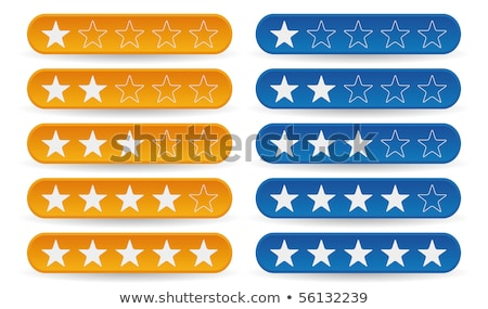 star rating in blue color Stock photo © SArts