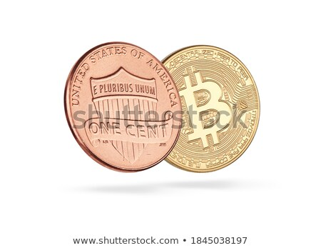 Bitcoin centrum business web print dollar Stockfoto © compuinfoto