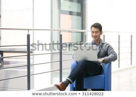 asiático · empresário · negócio · terno · corporativo - foto stock © studioworkstock