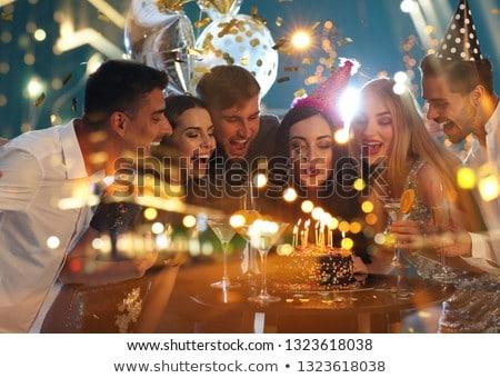 Birthday celebrations Stock photo © IS2