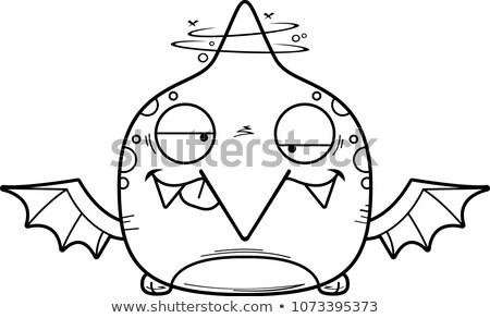 Cartoon Goofy Pterodactyl Stock photo © cthoman