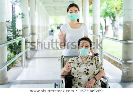 医療 · 患者 · 家族 · アジア · 男 · 薬 - ストックフォト © yongtick
