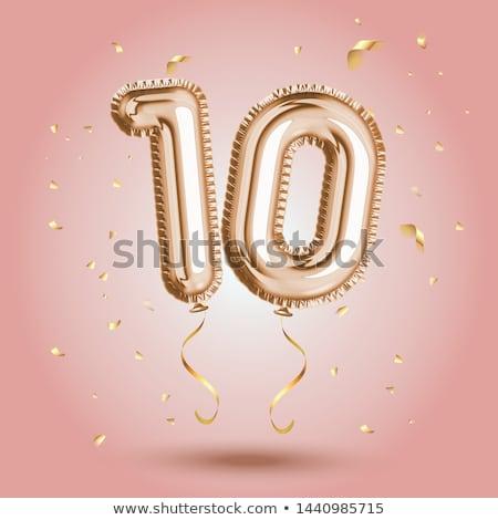 Number ten Stock photo © colematt