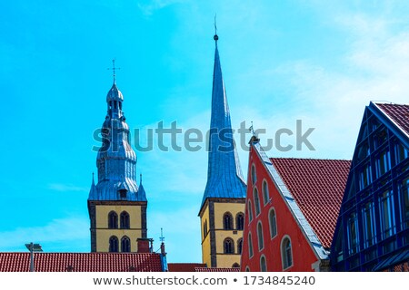 St Nicholas church in Lemgo, Germany Stock photo © borisb17