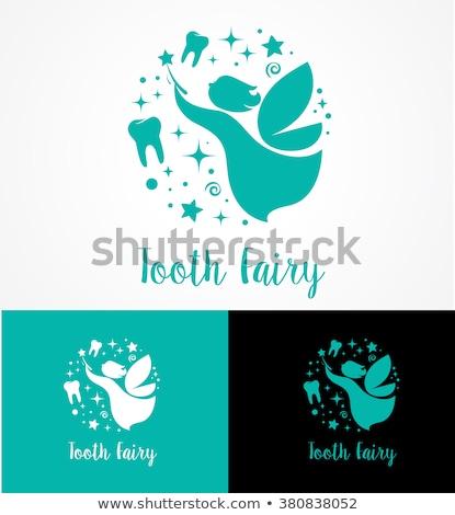 Tand fairy icon Stockfoto © marish