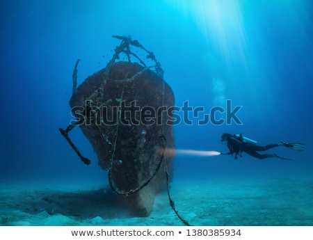 Schip Maldiven oceaan natuur zomer Stockfoto © borisb17