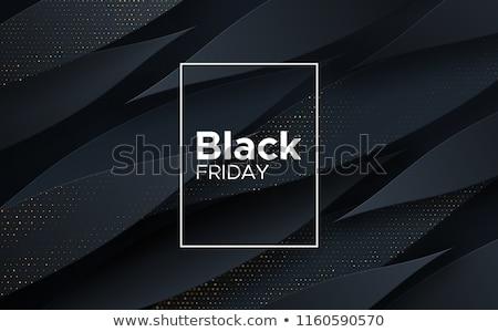 Negro dorado medios tonos patrón diseno resumen Foto stock © SArts