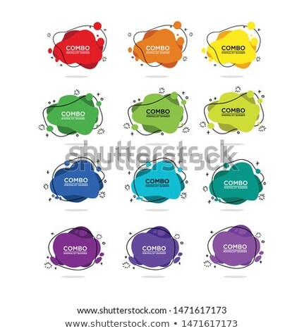 various colorful abstract icons set 12 stock photo © cidepix
