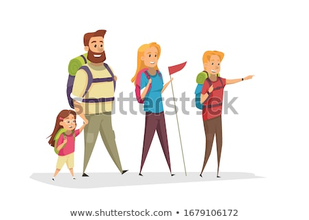 child goes on track to parents stock photo © paha_l