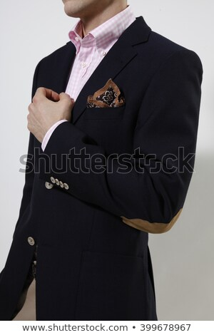 Man wearing suite white background Stock photo © photography33