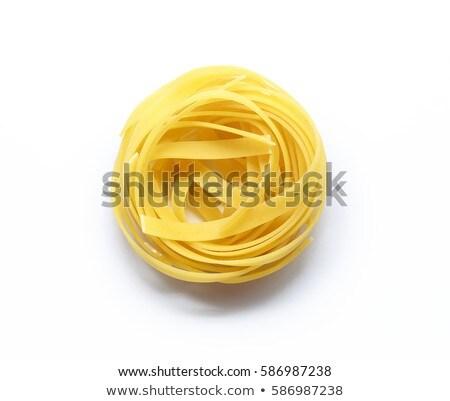 isolated fresh pasta Stock photo © M-studio