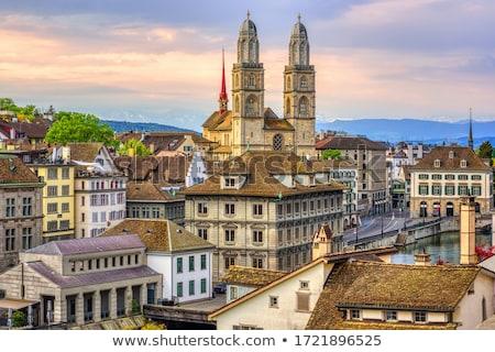 The Grossmunster in Zurich Stock photo © elxeneize