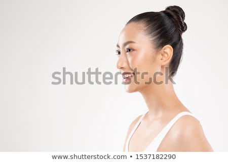 Side view of a smiling woman Stock photo © wavebreak_media